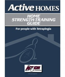 Home Strength Training Guide for People with Tetraplegia